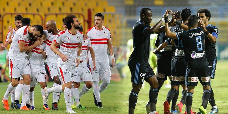 طاقم حكام روماني لنهائي كأس مصر بين الزمالك وبيراميدز