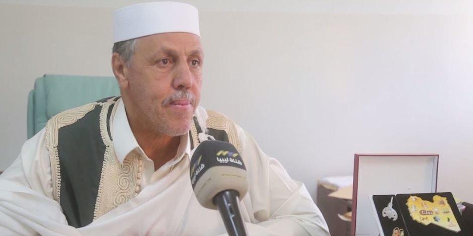 ماذا قال رئيس مجلس أعيان ومشايخ ترهونة عن قصف مليشيات الوفاق الهمجي للمدينة الليبية؟