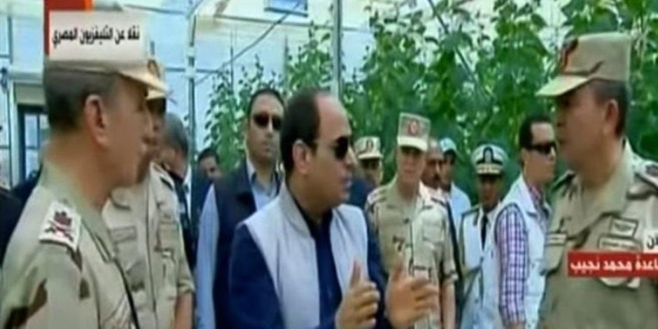 في عيده الـ 67 .. كيف اهتم الرئيس السيسي بالفلاح؟