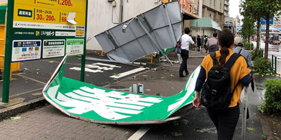 أحداث عالمية ساخنة في 24 ساعة.. إعصار «فاكساى» يجتاح طوكيو.. وانطلاق المعرض الصينى العربي التكنولوجى