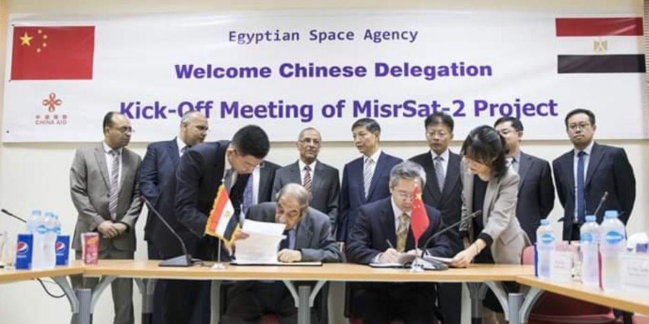 تفاصيل إطلاق قمر صناعي جديد بتكلفة بين مصر والصين