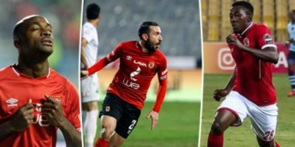 لأول مرة.. الدوري المصري يضم 29 جنسية.. وتونس تتصدر بـ16 لاعبا محترفا