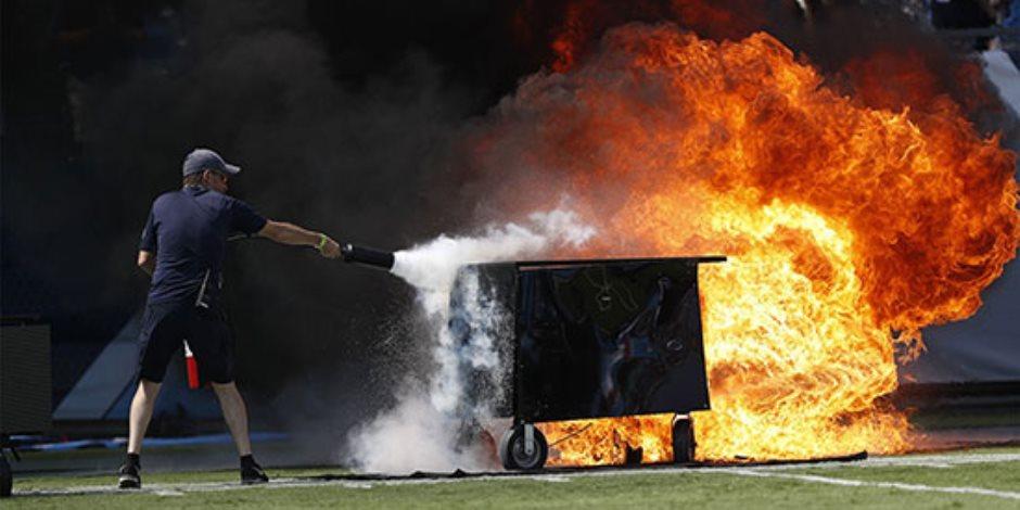 العالم هذا الصباح.. أنصار «القروي» يحتفلون أمام مقر حزبه وحريق ضخم في مباراة لكرة القدم