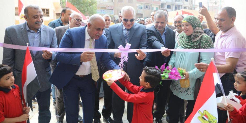 بتكلفة 12 مليون جنية.. افتتاح مدرسة «أمهات المؤمنين» للتعليم الأساسى بالجيزة (صور)