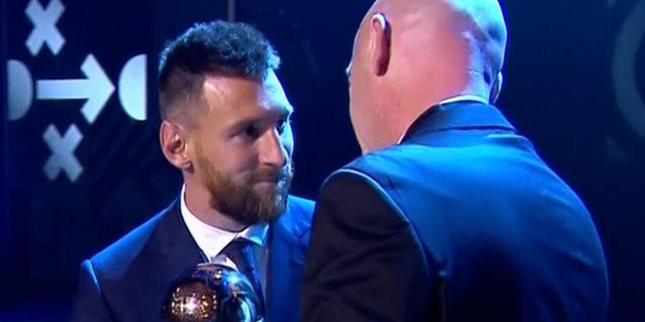 حفل The Best.. ليونيل ميسى أفضل لاعب في العالم 2019