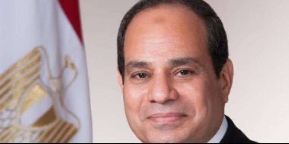الرئيس السيسي يهنئ الشعب التونسي بتنفيذ الاستحقاق الانتخابي الرئاسي