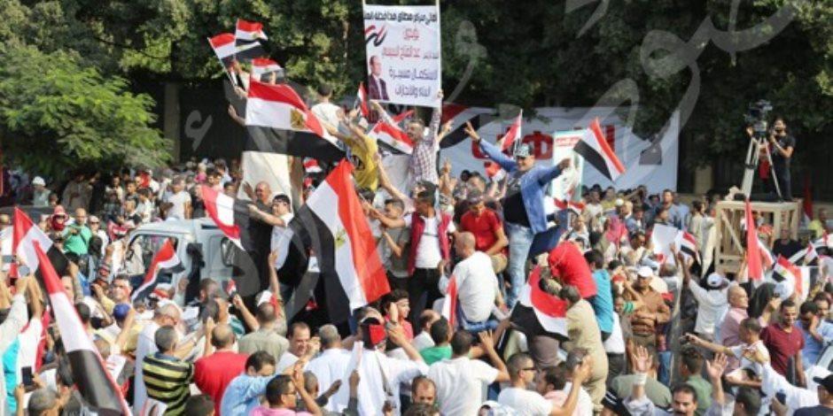 مصر قالت كلمتها.. فيديو من قلب الشارع يكشف حقيقة دعوات التظاهر