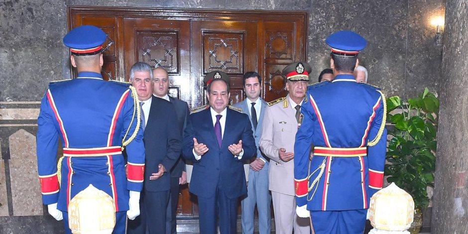الرئيس عبد الفتاح السيسي يزور ضريح الرئيس الراحل جمال عبد الناصر