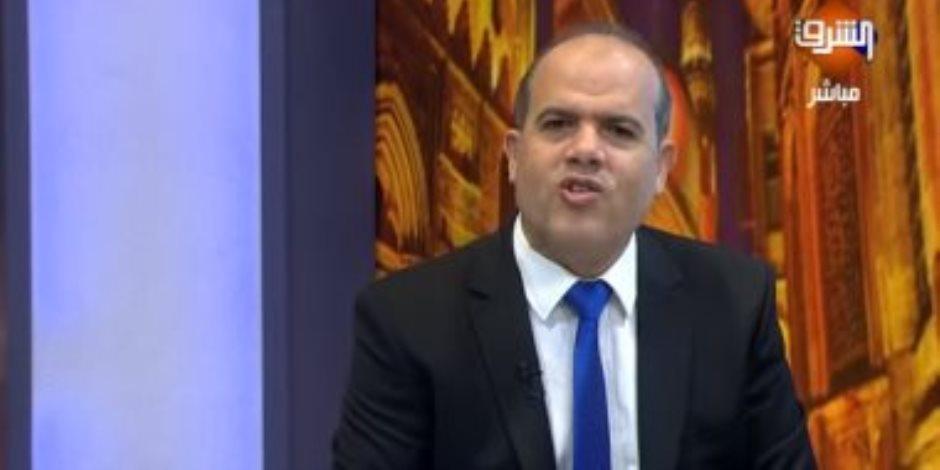 شاهد لأول مرة.. مذيع الإخوان أحمد عطوان عندما كان يلمع الحزب الوطني وجمال مبارك