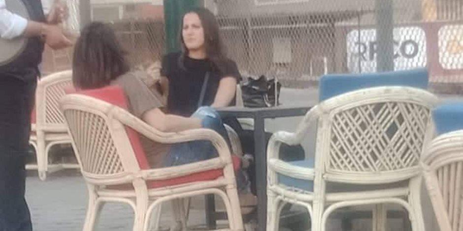 زوجة فايلر تظهر للمرة الأولى فى مران الأهلى