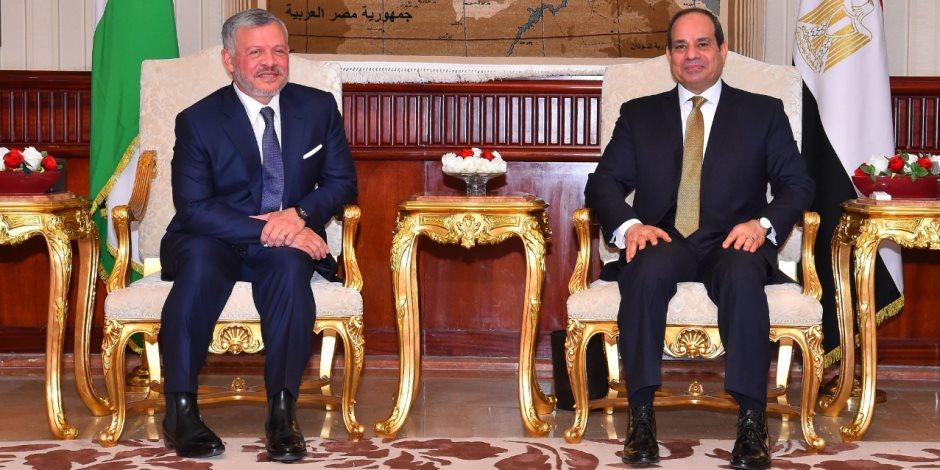 الرئيس السيسى يؤكد رفض مصر للعدوان التركي على سيادة وأراضي سوريا
