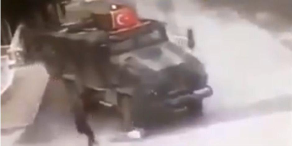 المنظمة المتحدة الوطنية لحقوق الإنسان تدعو العالم لإيقاف الجريمة التركية في شمال سوريا