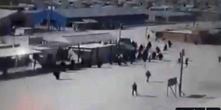 أردوغان الكاذب ادعى محاربة الإرهاب.. والاحتلال التركي يُهرب الدواعش من سجون مخيم الهول السوري (فيديو)