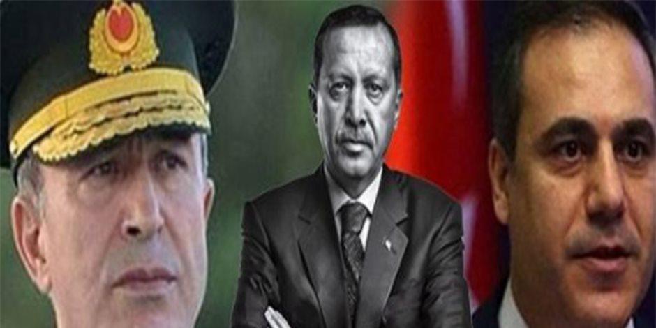 لو كنت ناسي أفكرك.. تسريب صوتي لرئيس المخابرات التركي فضح مخطط أردوغان لضرب سوريا (فيديو)