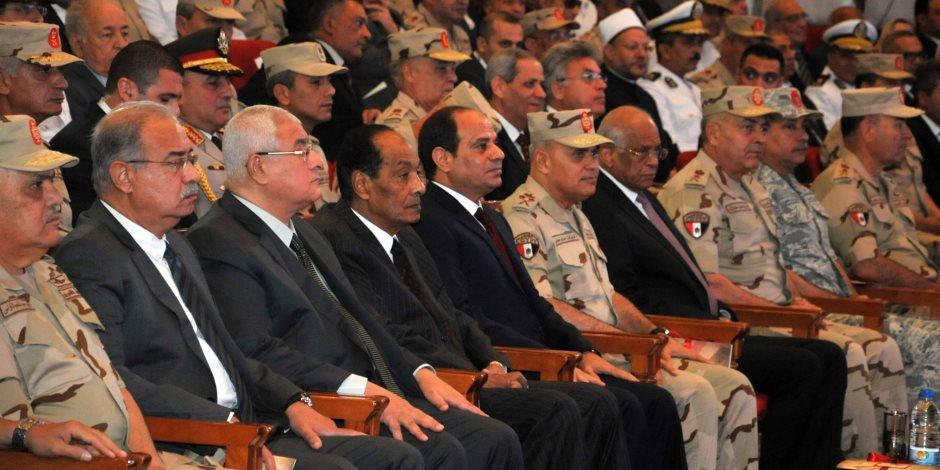 الممر والقوات المسلحة يتصدران تويتر عقب الندوة التثقيفية بحضور السيسي