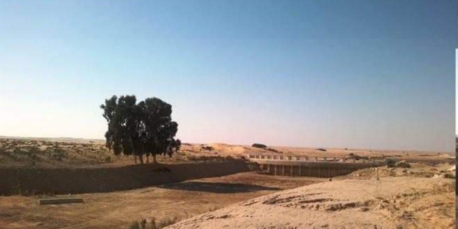 إدارة الموارد المائية بشمال سيناء: السدود جاهزة لإستقبال مياه السيول بلا معوقات ( صور)