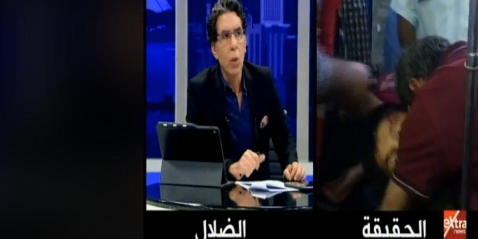 إنسانية على المزاج.. محمد ناصر يدافع عن غزو سوريا ويتجاهل صرخات الأطفال الضحايا (فيديو)