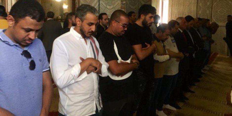 رئيس الاتحاد السعودي لكرة القدم وأعضاء مجلس الإدارة في زيارة للمسجد الاقصى (فيديو وصور)