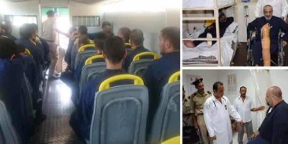 السجون وحقوق الإنسان.. آخر تقاليع الإخوان للتغطية على إفلاسهم والزيارات الحقوقية تفضحهم