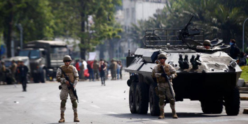 صباح العالم.. حظر تجول في تشيلى واشتباكات بين الشرطة والمتظاهرين بكتالونيا