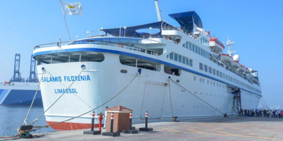 بعد توقف 10 أعوام.. كل ماتريد معرفته عن أول سفينة سياحية تصل الإسكندرية من قبرص