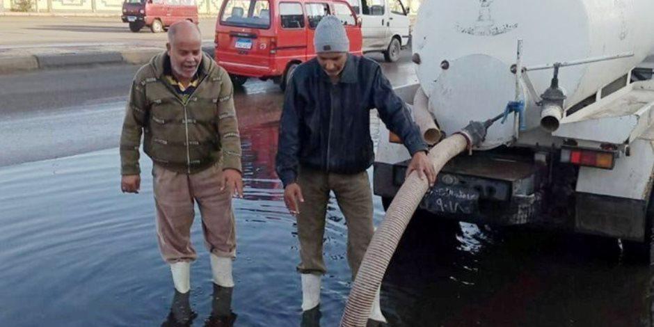الإسكندرية تتخطى أزمة الغرق.. الأمطار الرعدية تكشف جاهزية عروس البحر الأبيض المتوسط