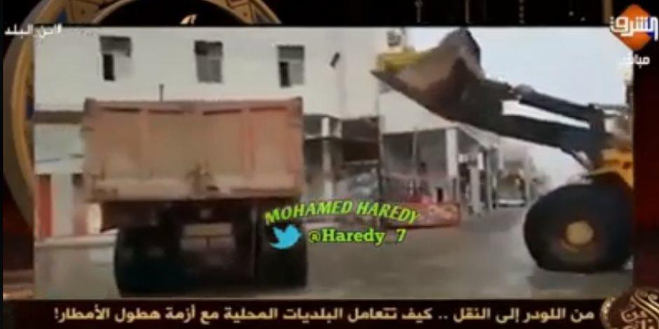 فيديو ساخر يفضح الهارب هشام عبدالله: عرض آثار سيول العراق على أنها مشاهد من مصر