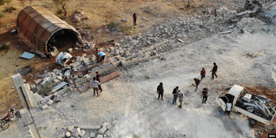 البنتاجون يبث لقطات من عملية قتل البغدادي في شمال سوريا