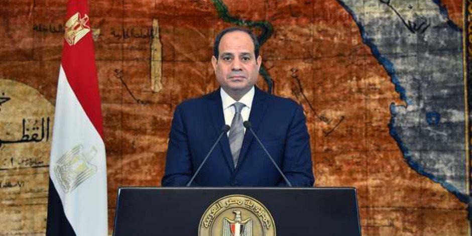 السيسي يهنئ الشعب المصري بذكرى المولد النبوي