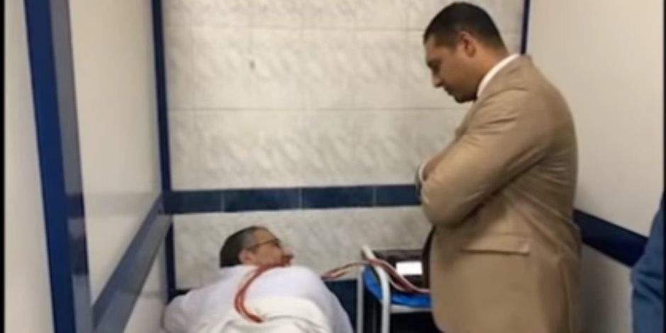 """صفوت عبد الغني من مستشفى سجن طره : أتلقي علاج دوري للكبد والأطعمة تتم بإشراف الطبيب المعالج """"فيديو"""""""