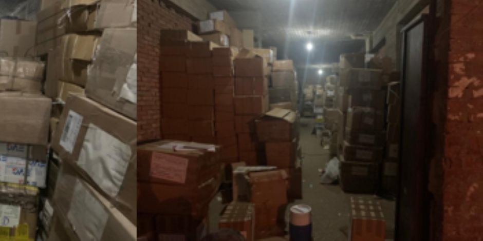 مباحث المصنفات تحبط تهريب 30 ألف كتاب مقلد قبل تصديرهم لخارج البلاد