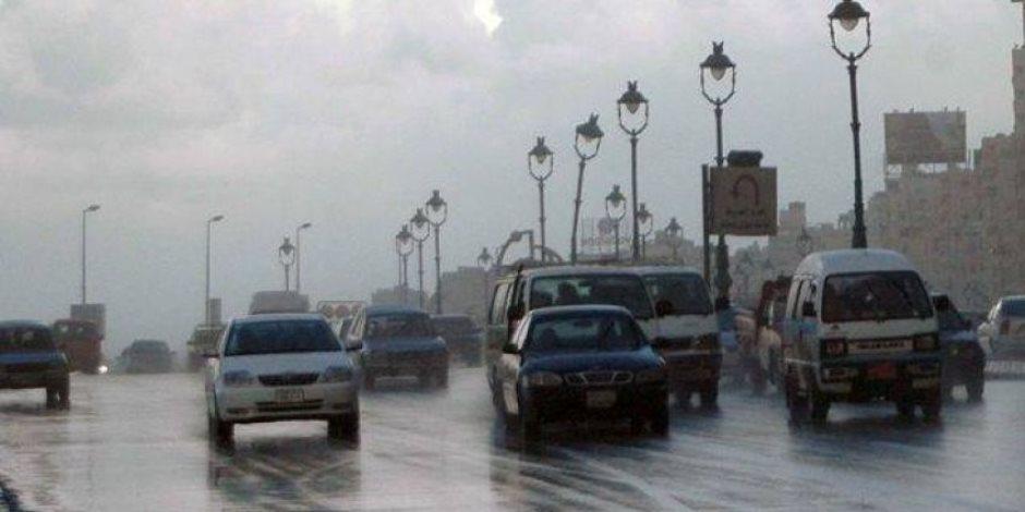 الأرصاد تعلن خريطة سقوط الأمطار فى المحافظات حتى الخميس المقبل