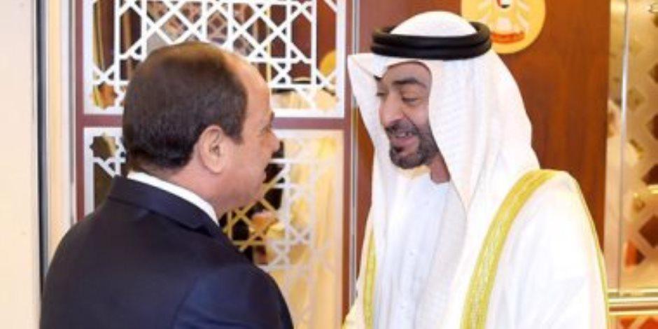 """صندوق مصر السيادي يحقق أول استثمار خارجي ضخم خلال زيارة """"السيسى"""" للإمارات"""
