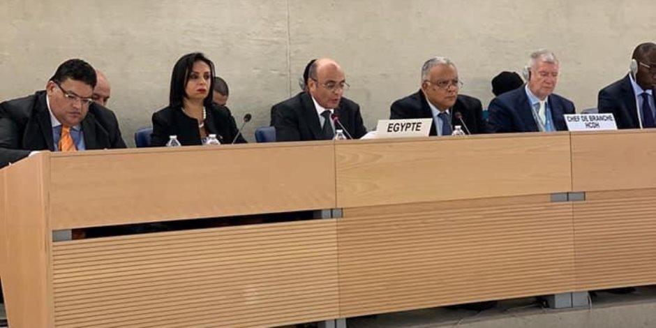 في مؤتمر جنيف.. النيابة العامة تحدثت بشفافية عن أهم 5 تساؤلات عن حقوق الإنسان بمصر
