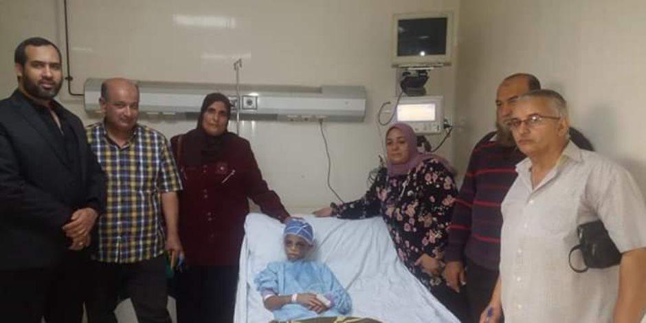 التضامن تستجيب لبلاغ أهالي الشرقية بعد تعذيب طفلة من خالتها
