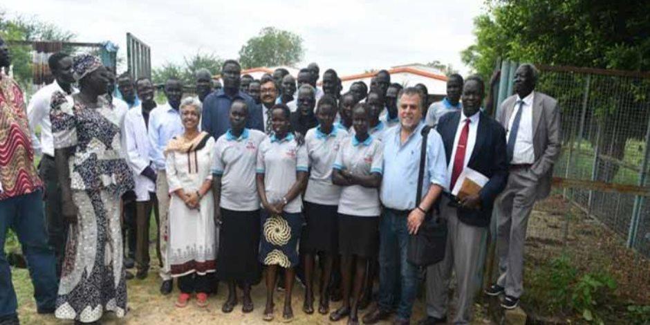 مصر توافق على تمديد عمل بعثة علاج مليون إفريقي لمدة شهر في جنوب السودان
