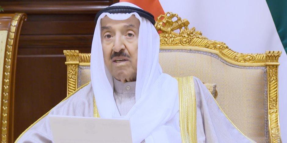 أمير الكويت: لا حمایة لفاسد ولن یفلت من العقاب أي شخص تثبت ادانته بالاعتداء على المال العام