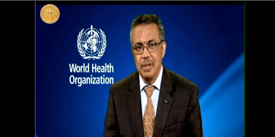 """""""الصحة العالمية"""" مهنئة مصر بمنظومة التأمين الصحى: تكتبون فصلا جديدا بالتاريخ"""