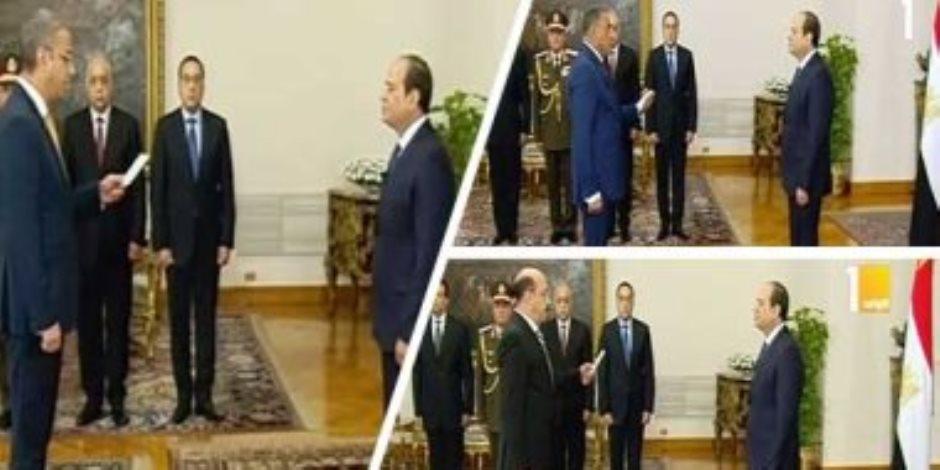 أمل مصر.. السيسي يدرك أهمية الشباب ويشركهم في تغييرات المحافظين ونوابهم