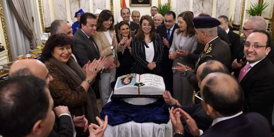 """مجلس الوزراء يحتفل بـ""""غادة والى"""" لتوليها المنصب الأممى الرفيع"""