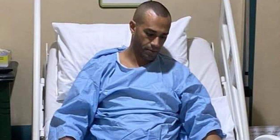 شاهد.. أول صورة لـ علاء الشربيني بعد إجرائه عملية جراحية دقيقة