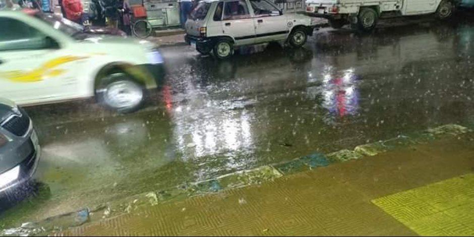 شمال سيناء ترفع درجة الاستعداد لمواجهة التقلبات الجوية بعد سقوط الأمطار المصحوبة بموجة باردة