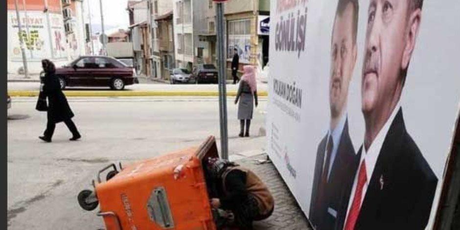 تركيا في المرتبة الخامسة بمؤشر البؤس.. إلى متى يأكل الأتراك من القمامة؟  (صور)