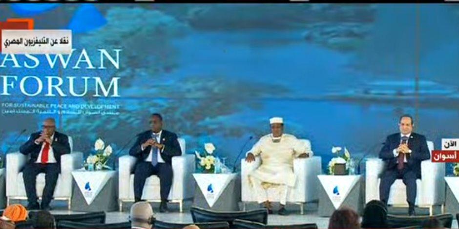الرئيس السيسى: مصر مستعدة لدعم الدول الأفريقية لمواجهة الإرهاب