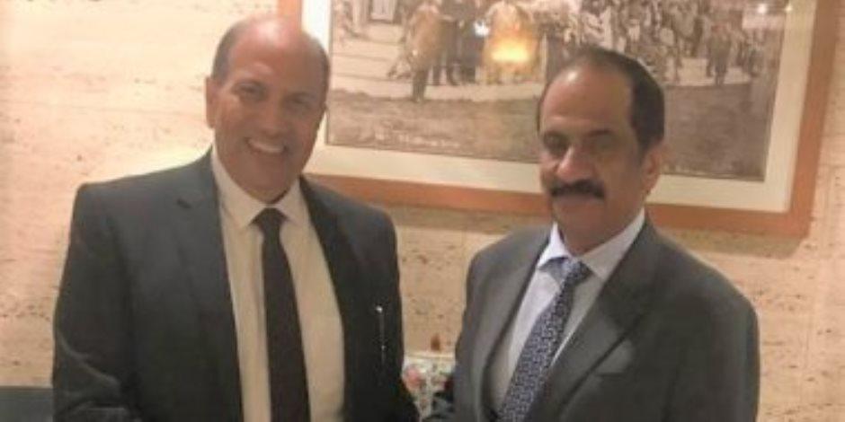 ماذا قال رئيس التنمية الصناعية عن اجتماعه مع أمين عام مجلس الإمارات للمستثمرين بالخارج؟