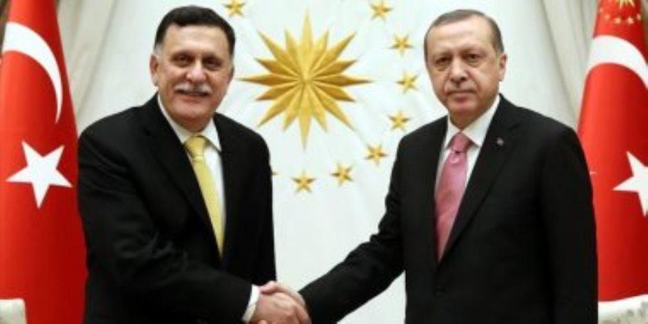 غضب دولي ضد اتفاق «أردوغان- السراج».. وبرلمان ليبيا يتوقع صدام عسكري مع تركيا
