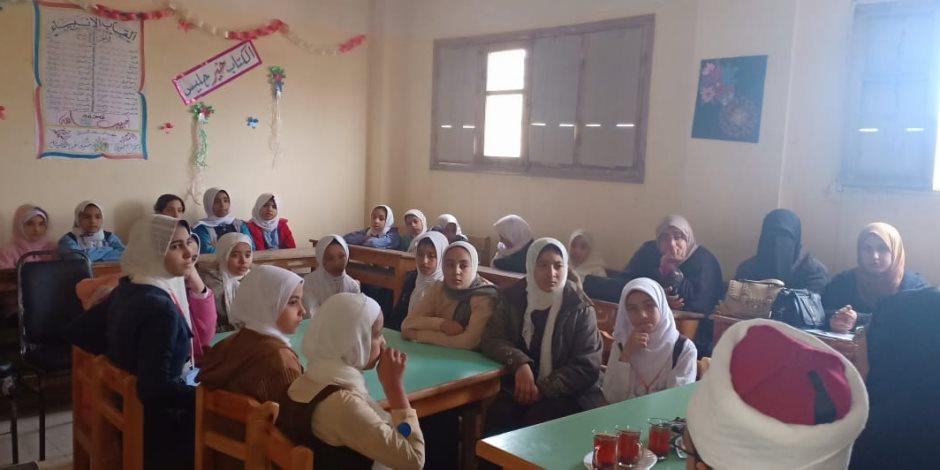 «الحرمان من التعليم والزواج المبكر».. ندوة لفرع القومي للمرأة بشمال سيناء (صور)