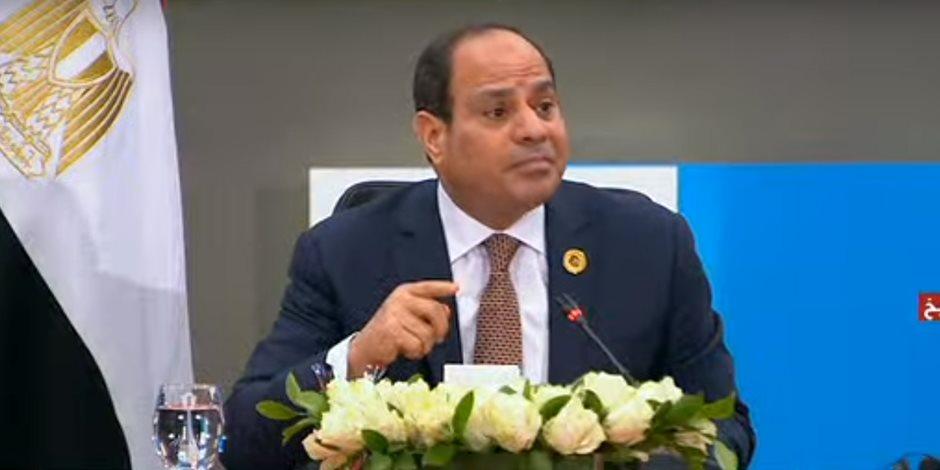 منتدى شباب العالم.. الرئيس السيسي للإعلام الأجنبي: ليس لدينا تحديات تعرقلنا سوى الاستقرار