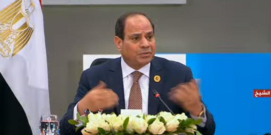 السيسى: لا بديل عن استعادة الدولة الوطنية لمكانتها لعودة الاستقرار