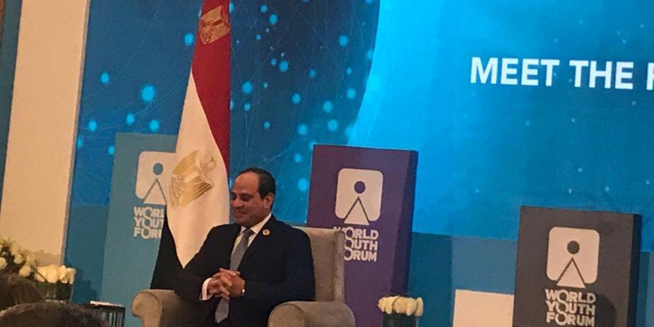 """السيسي.. موقف مصر من اتفاق ليبيا وتركيا عبرت عنه من خلال بيان """"الخارجية"""""""